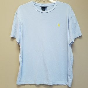Light Blue Polo Tee